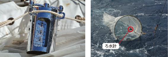 プランクトンネット ろ水計