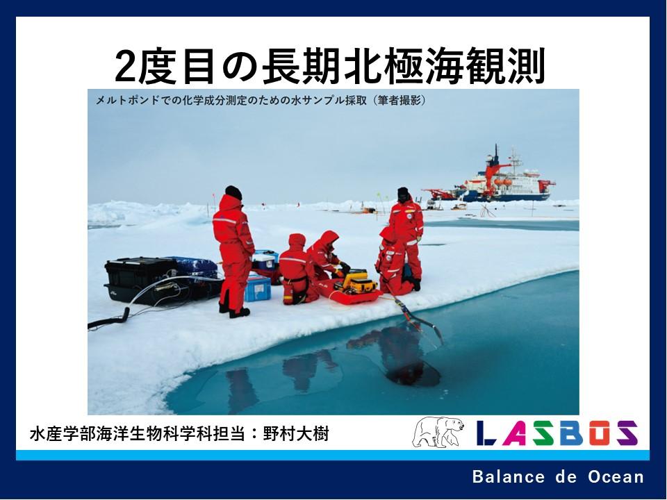 2度目の長期北極海観測