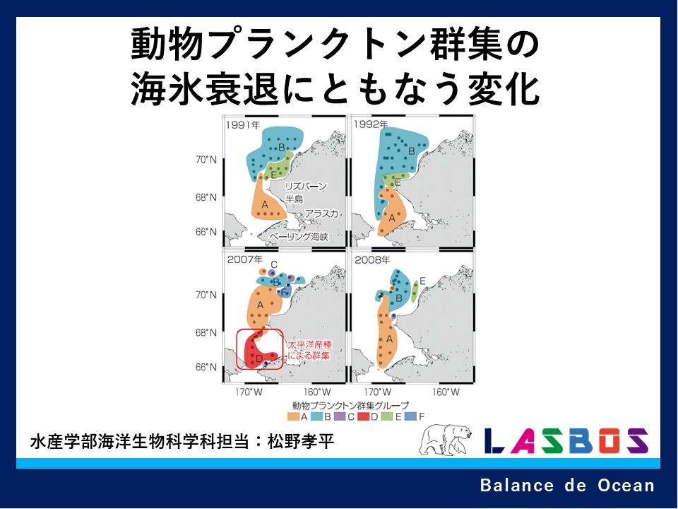 動物プランクトン群集の海氷衰退にともなう変化