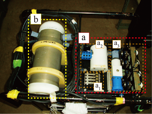 VMPS 水中局の制御装置