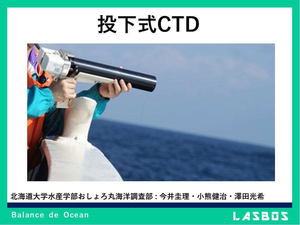 投下式CTD